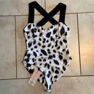 NWT! House of CB London One Piece Swim Suit